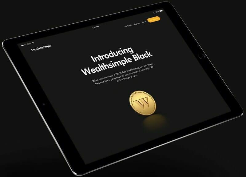 Wealthsimple Review - Wealthsimple Black