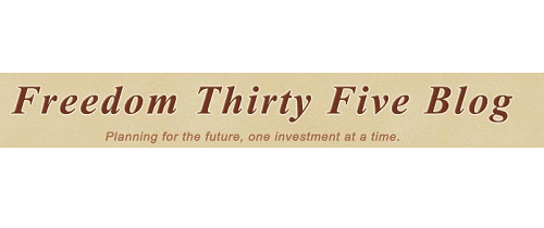 Personal Finance Blogs Freedom Thirty Five
