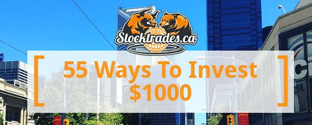 Ways To Invest $1000