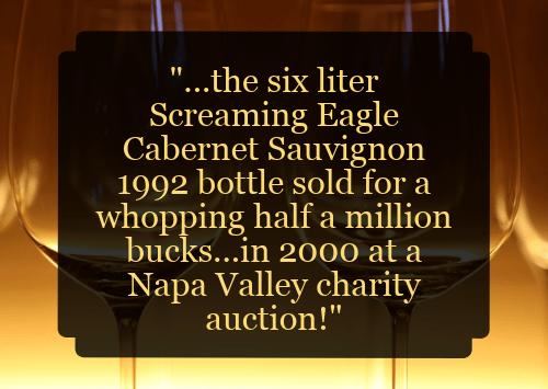 Best way to invest money - buy wine