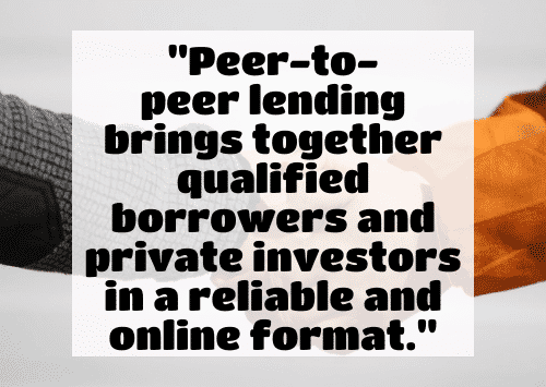 how to make investments with little money - P2P Lending