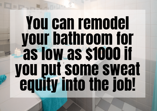 Ways To Invest $1000 - Renovate Your Home