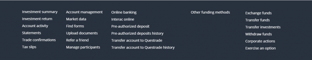 Questrade Review - MyQuestrade