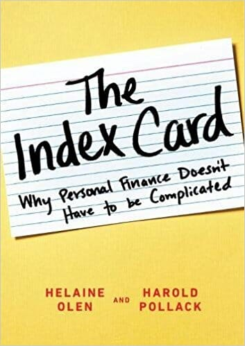 The Index Card Best Finance Books