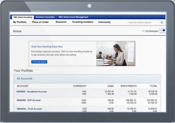 RBC Direct Investing Platform Review